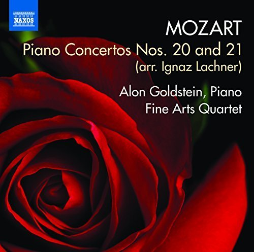 Mozart:Piano Concertos For Quartet [Alon Goldstein; Fine Arts Quartet; Rachel Calin] [NAXOS: 8573398] by Alon Goldstein (2015-07-25)
