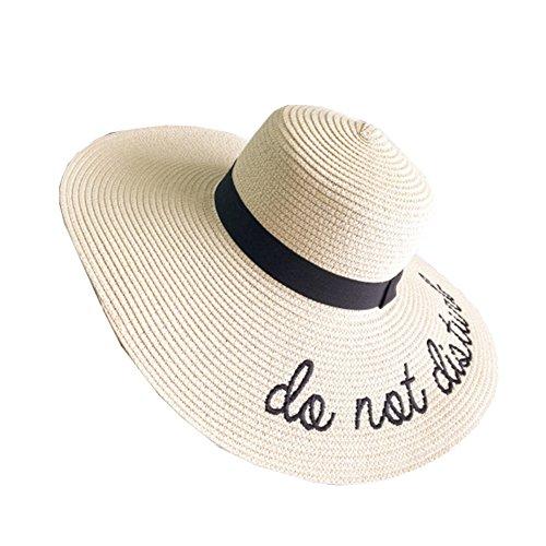 Sombrero Gorro De Paja Playa Pamela Panama Deporte Al Aire