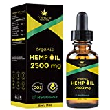 Advanced 2500MG (30ml) Organic Hemp Oil | Most Trusted London UK Brand | Supports Inflammation, Sleep, Anxiety, Immunity, Joints | All-Natural and Vegan | 3 Months Supply