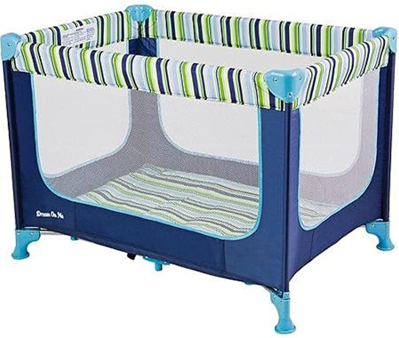 Dream On Me Zodiak Portable Play Yard Travel Bag Included Navy