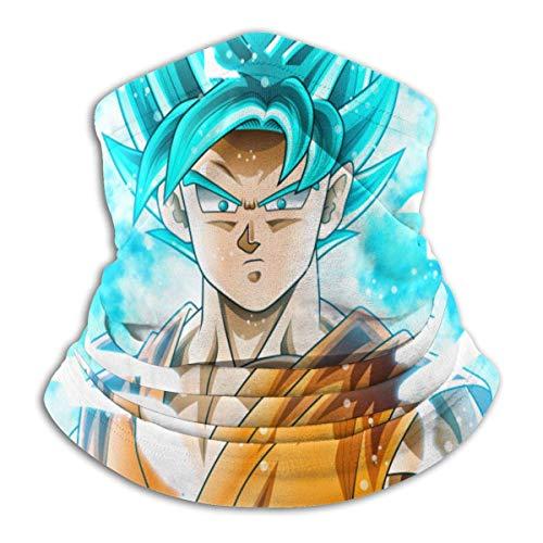 Clásico Son Goku In Dragonball Tubo de Microfibra Calentador de Cuello Máscara de Escudo de Protección Banda Diadema y Gorro