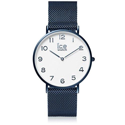 ICE-WATCH Männer Analog Quarz Uhr mit Edelstahl Armband 012713