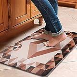 Kitchen Mat, Anti-Fatigue Comfort Kitchen Rug Non Slip Floor Mat Oil Stain Resistant Carpet for Indoor Outdoor Doormat,30x17 Inch