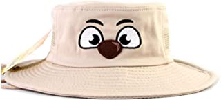 WITHMOONS Kids Boonie Bush Hats Wide Brim Adjustable Style Side Snap MACA0757