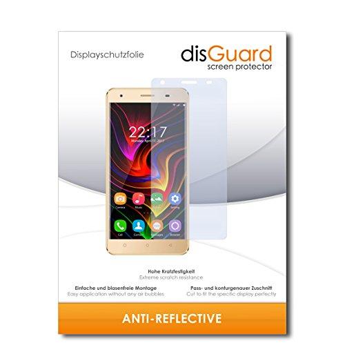 disGuard Schutzfolie für Oukitel C5 [3 Stück] Entspiegelnde Bildschirmschutzfolie, MATT, Glasfolie, Panzerglas-Folie, Bildschirmschutz, Hoher Festigkeitgrad, Glasschutz, Anti-Reflex