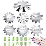 Best Nail Cutters - 7 Pieces French Smile Line Cutter Nails Tool,JASSINS Review