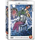 EuroGraphics 'Marc Chagall Le Violoniste Bleu Puzzle (1000, Mehrfarbig)