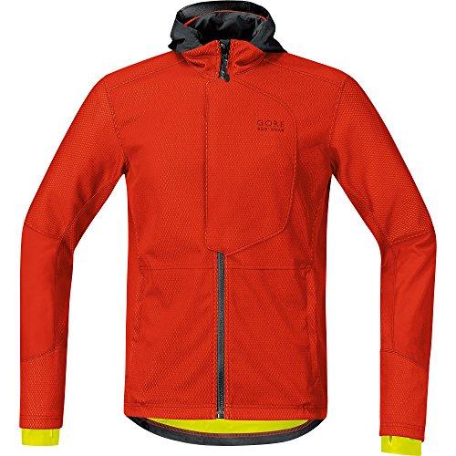 GORE WEAR Herren Element URBAN Windstopper Soft Shell Jacke, Orange.com, S