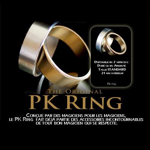 Magie PK Ring Anneau aimanté super puissant Argenté