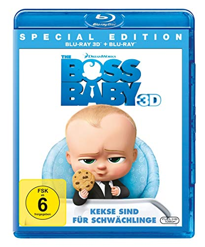 The Boss Baby  (+ Blu-ray 2D)