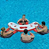 JILONG Fashion Water Bar - Set de Piscina consistente en 4 sillones acuáticos...