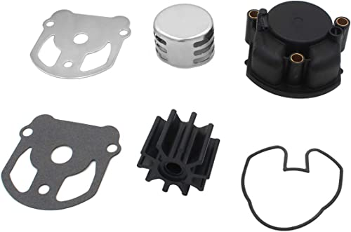 new arrival Water Pump Impeller 2021 Repair Kit Replaces OMC Cobra new arrival 1986-1993 984461 777128 983895 with housing online