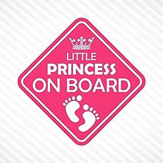 Little Princess On Board Vinyl Decal Bumper Sticker Baby Girl Sticker Car Truck Van Window Sticker Self Adhesive Vinyl Car...