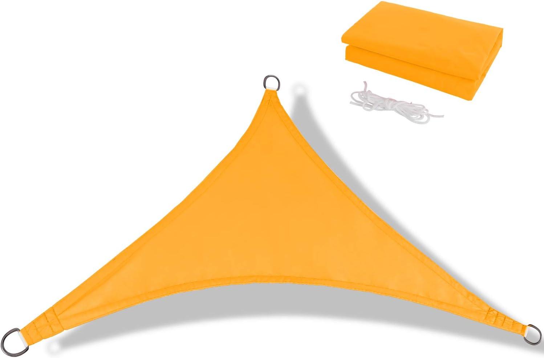 Anecoul Sun Shade Super sale period limited Sail x Waterproof Triangle 10' trust