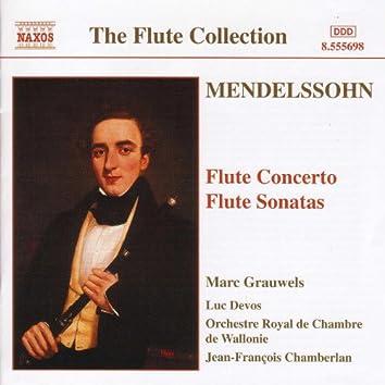 MENDELSSOHN: Flute Concerto in D Minor / Flute Sonatas