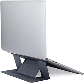 MOFT Invisible Slim Laptop Stand, Adhesive And Reusable, Adjustable Perfect Viewing Angles, Compatible with Laptops Up to ...