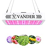 LED Grow Light 2000W - Vander Updated Version Full Spectrum Led Growing Lamp for Hydroponic Indoor Plants Veg...
