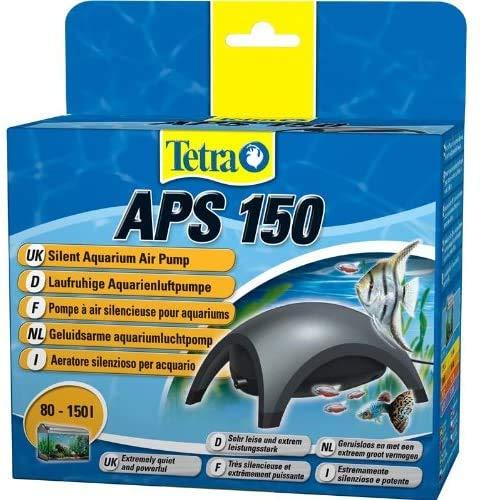 Tetra APS 150 Pompa per Acquari di 80-150 L, Aeratori Silenziosi e Potenti, Antracite