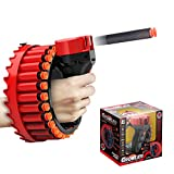 OBEST Pistole Blaster con Freccette in Schiuma, Giocattolo per Il tiro di Freccette Contin...