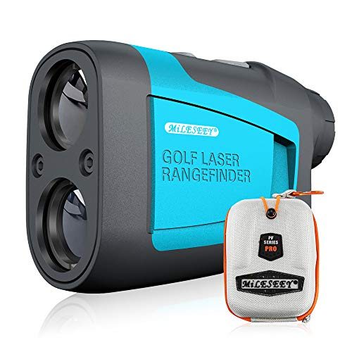 MiLESEEY Professional Precision Laser Golf Rangefinder 660 Yards with...