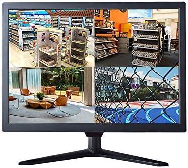 18.5″ CCTV Monitor, Cocar 16:9 BNC Monitor with YPbPr/BNC/VGA/HDMI/Audio Jack, TFT LCD Display for Home Security Systems Surveillance Camera STB PC VESA Wall Mounting 1336×768