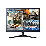 21.5' CCTV Monitor, 16:9 Cocar BNC Monitor 1920x1080 Composite Component YPbPr/BNC/VGA/HDMI/Audio in Out, VESA Wall Mounting TFT LCD Display for Home Security Systems Surveillance Camera STB DVR NVR