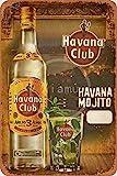 None Brand Havana Club Blechschild Retro Blech Metall