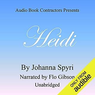 Heidi audiobook cover art