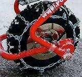 POWERPAC - Cadena para la nieve para modelos ED120 o ES230 (apta para carretillas con batería, equipos quitanieve con batería, palas para nieve con batería, carretillas con motor, carretillas dumper, etc.)