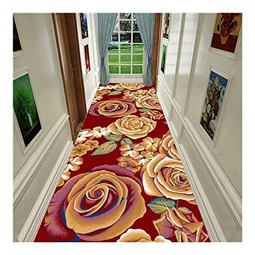 ditan CnCnCn 3D Doormat Corridor Carpet Bedroom Entrance Can Be Cut Living Room Non-Slip (Color : A, Size : 120x480cm)