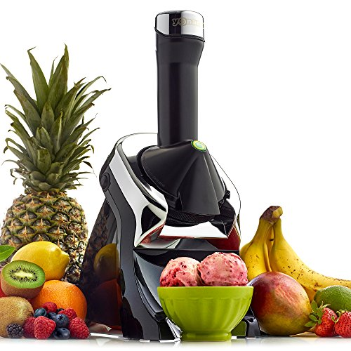 Yonanas 987 Elite Fruit Soft Serve Maker, Black