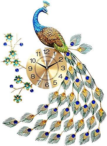 AIOJY por Peacock Pared Vivir Taktge PM Reloj De Pulsera