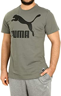 Puma Archive Logo Tee Castor G Gri Erkek T-Shirt