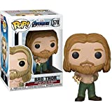 Funko- Pop Marvel: Endgame-Thor w/Can Collectible Toy, Multicolor (45142)