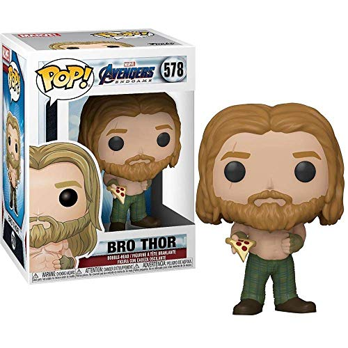 Funko- Pop Marvel: Endgame-Thor w/Can Avengers Collectible Toy, Multicolor (45142)