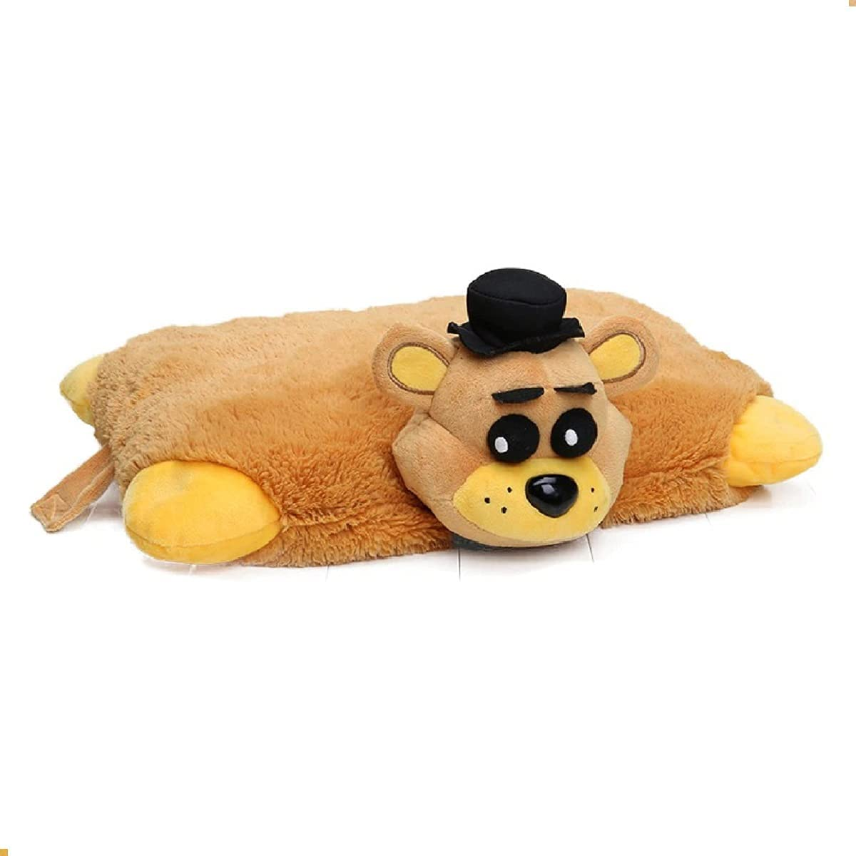 FNAF Golden Freddy Pillow Plush Genuine Free Shipping Five Nights depot Gol Freddy's Pets at