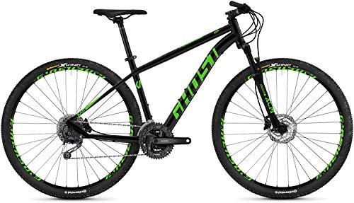 Ghost Kato 4.9 AL U 29R 2019 - Bicicleta de montaña, color Color negro y verde., tamaño medium