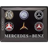 Nostalgic-Art Mercedes-Benz – Logo Evolution –