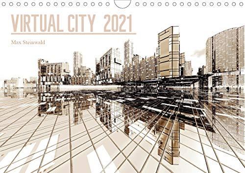 VIRTUAL CITY 2021 (Wandkalender 2021 DIN A4 quer)