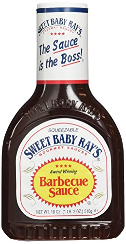Sweet Baby Ray's BBQ Sauce - Original, 1er Pack (1 x 510 g Flasche)