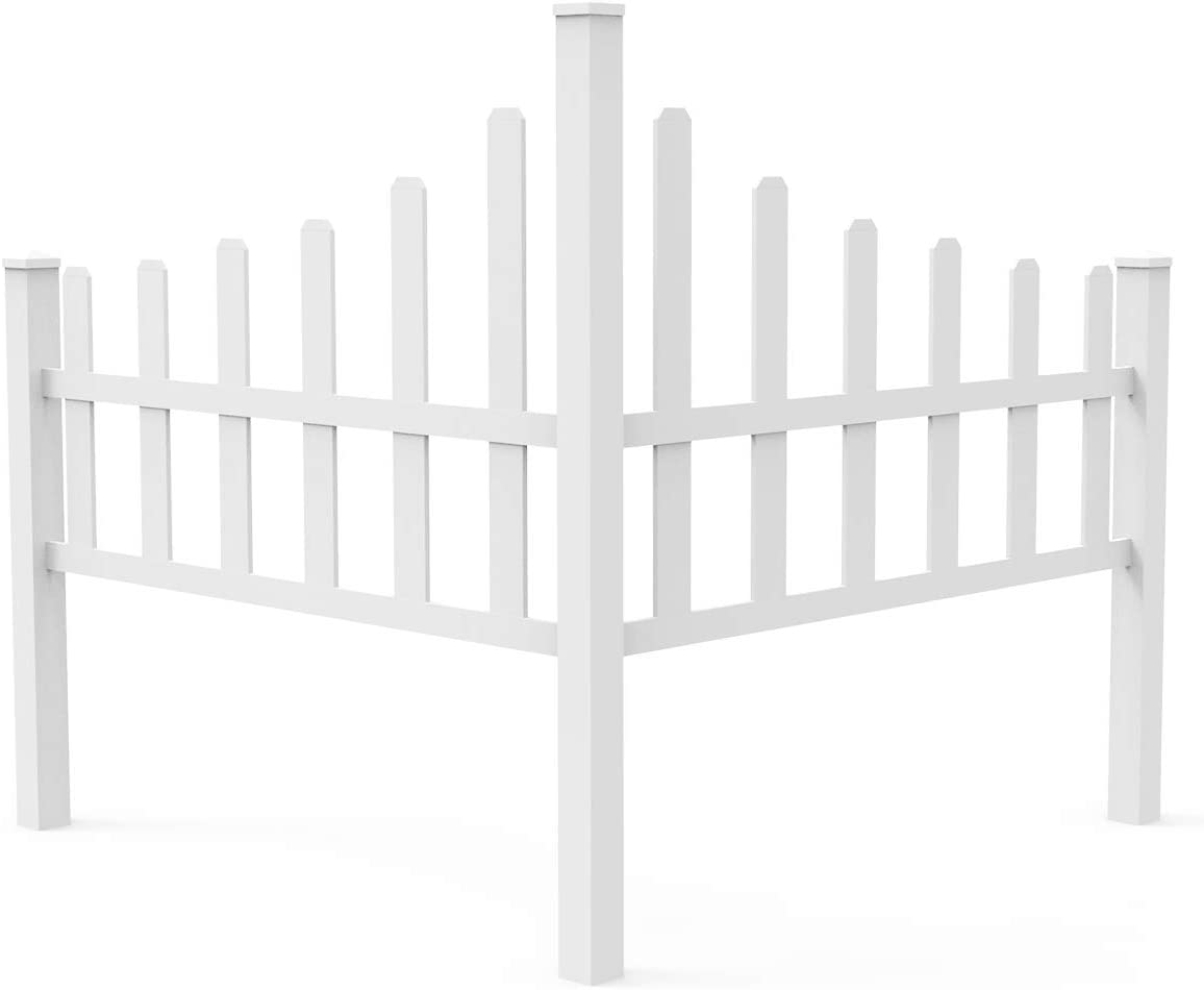 FLORALEAF Max 52% OFF Vinyl Fence Corner New product!! Picet New Coun England Arbors