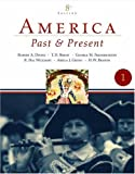 America Past And Present: To 1877