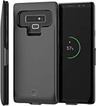 Samsung Galaxy Note 9 Battery Case, FugouSell 7000mAh Extended Battery Rechargeable Backup Fast Charging Case, Impact Resistant Power Bank Juice Full Edge Protection for Samsung Galaxy Note 9 (Black)