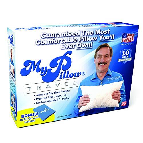 My Pillow As Seen On TV Roll & GoAnywhere Travel Pillow Foam 1 pk - Case of: 1; Each Pack Qty: 1