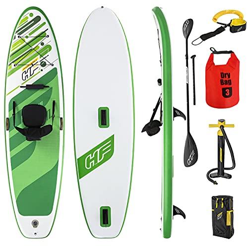 Sup Stand Up Paddle Board - Tabla de Surf Hinchable, 160 kg, conexión Windsurf, 340 x 89 x 15 cm