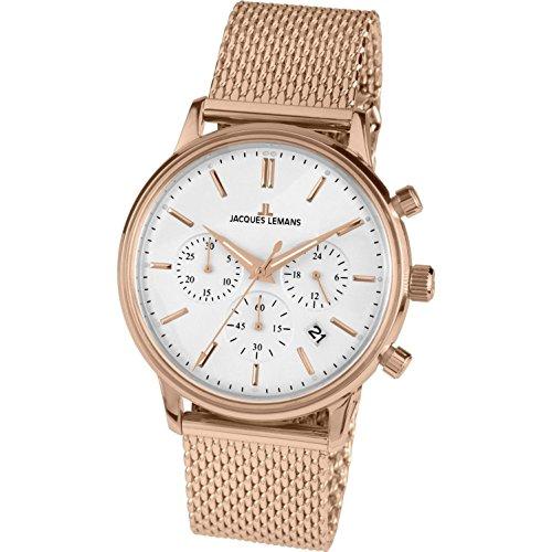 Jacques Lemans orologio uomo Retro Classic cronografo N-209M