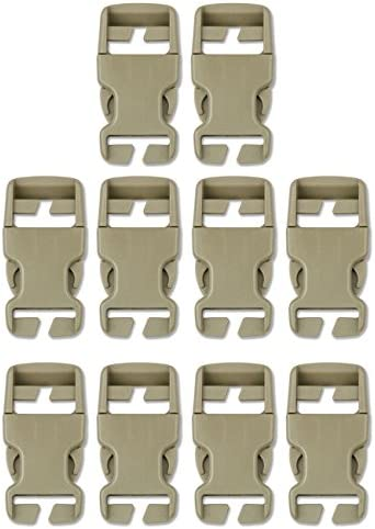 Molle buckle clips
