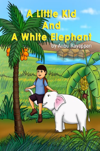 A Little Kid and A White Elephant - An Adventurous Jungle Journey