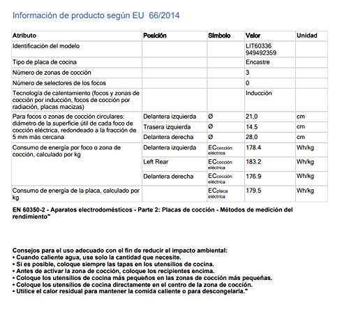 Electrolux LIT60336