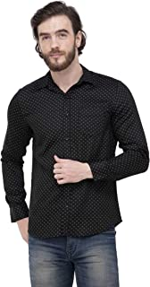 Super weston Dotted Shirts for Men for Casual Wear Use,Available Sizes M=38,L=40,XL=42